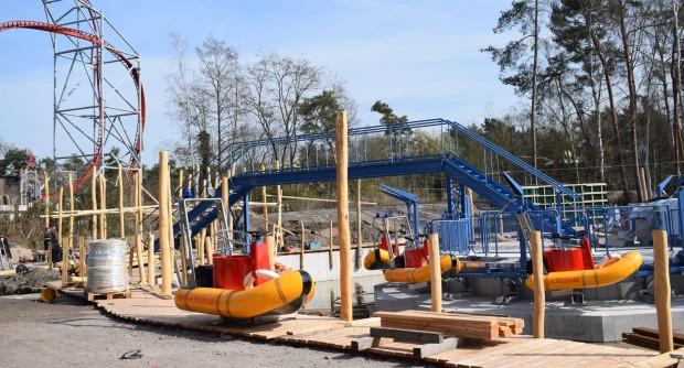 """Baustelle von """"The Beach"""" im Holiday Park"""