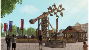 "Artwork zu ""Kärnapulten"" im Hansa-Park"