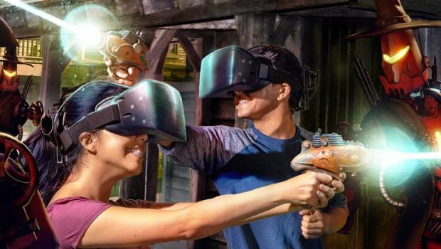 Knott's Berry Farm VR-Attraktion VR Showdown in Ghost Town