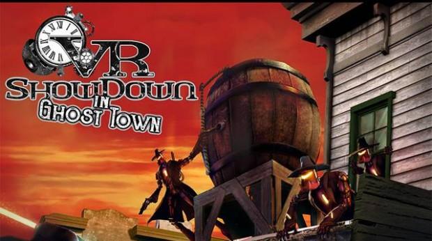Knott's Berry Farm Virtual-Reality-Attraktion VR Showdown in Ghost Town