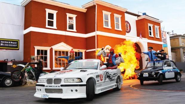Movie Park Germany Crazy Cops Show