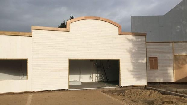 Parc Bagatelle Luftfahrt Themenbereich Baustelle
