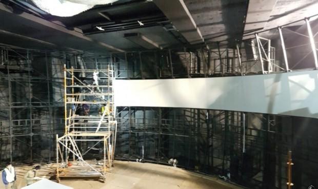 """Bauarbeiten an """"Project V"""" im Europa-Park"""