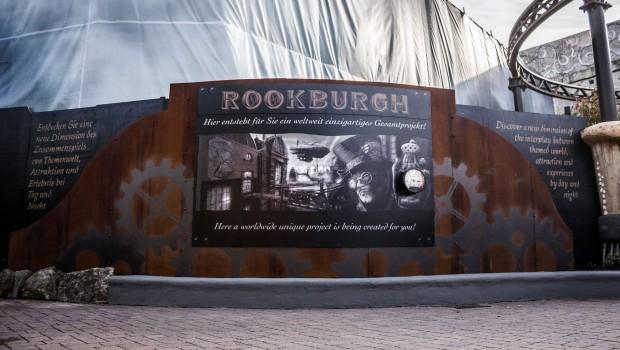 Ankündigung von Rookburgh im Phantasialand