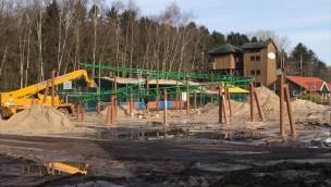 Der aktuelle Baustand von Eine Reise durch das Mittelalter in Schloss Dankern