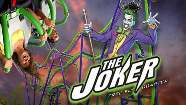 The Joker Achterbahn Six Flags Great America