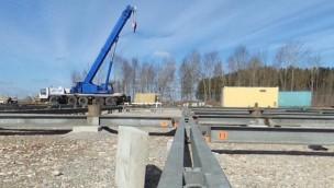 """""""Wildwasserbahn 2""""-Baustelle im Blick: Skyline Park beginnt mit Aufbau von neuer Wildwasserbahn"""