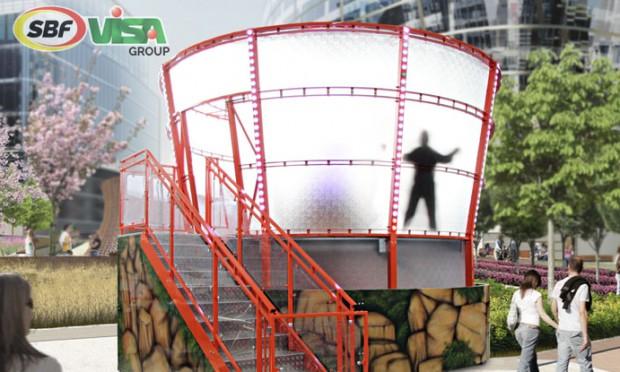 """Zero Gravity"" im Skyline Park (SBF Visa)"
