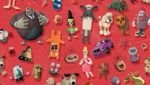 Aardman Animations Charakter Collage