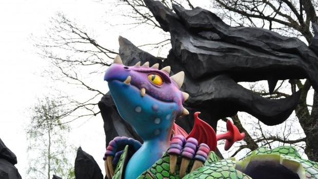 Avonturenpark Hellendoorn Draken Nest Hellandra Drache