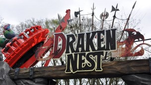 """Avonturenpark Hellendoorn 2017 neu mit """"Draken Nest"""": Attraktion um Drachen-Dame """"Hellendra"""" jetzt eröffnet"""