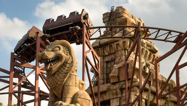 Disneyland paris 1993 Indiana Jones Temple of Peril