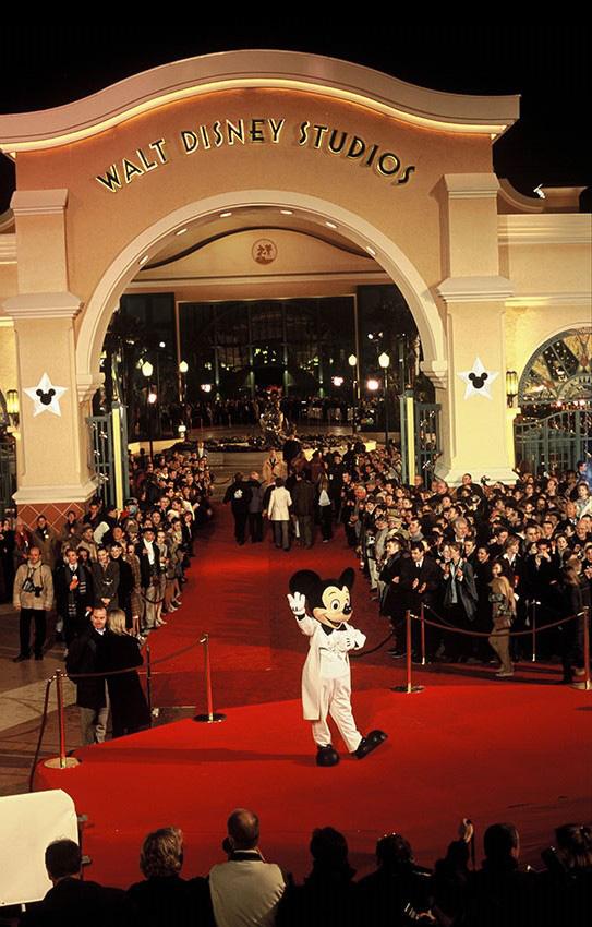 Disneyland Paris 2002 Eröffnung Walt Disney Studios Park