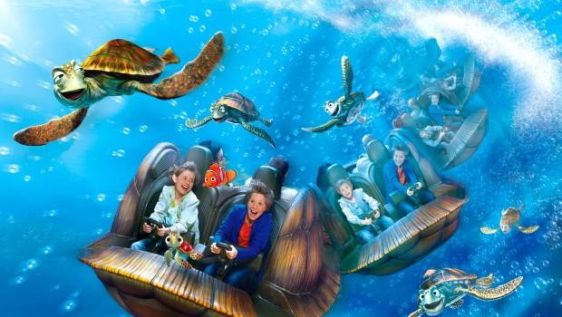 Disneyland Paris 2007 Crush's Coaster