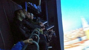 """""""Voletarium"""" hebt ab: Neues Flying-Theater im Europa-Park absolviert erste Testfahrt"""