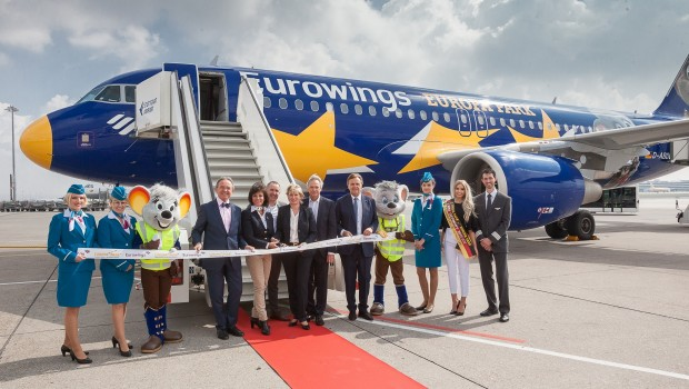 Europa-Park Eurowings Airbus Flugzeug Kooperation