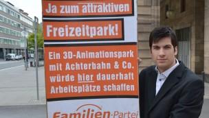 Neue Kampagne für Freizeitpark in Mannheim: 300 Plakate werben für Bau eines 3D-Animationsparks nach Futuroscope-Vorbild
