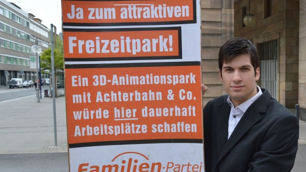 Freizeitpark Mannheim Kampagne Plakat 2017