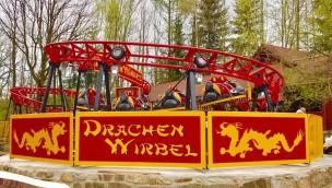 """Freizeitpark Plohn: Eröffnung von """"Drachenwirbel"""" pünktlich zu Ostern 2017"""