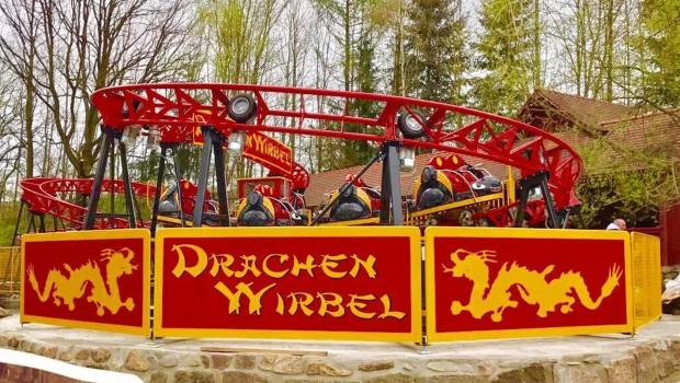 Freizeitpark Plohn Drachenwirbel Eröffnung