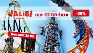 Günstige Walibi Holland-Tickets – Freizeitpark in den Niederlanden 30 % günstiger erleben!