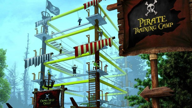 Gulliver's Kingdom Matlock Bath Pirate Training Camp