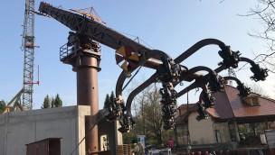Erlebnispark Tripsdrill Höhenflug Baustellenbild