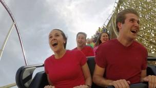 """""""Mystic Timbers"""" in Kings Island eröffnet: Neue Holzachterbahn im """"holzreichsten"""" Freizeitpark der Welt"""