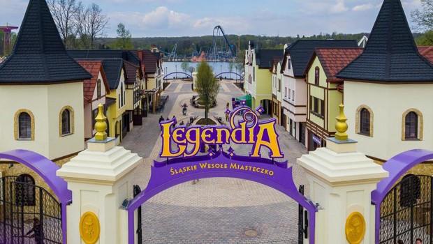 Legendia Freizeitpark Polen Eingang