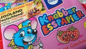 Knabbi Esspapier mit LEGOLAND Deutschland-Gutschein für Kinder-Freikarte gültig in der Saison 2017