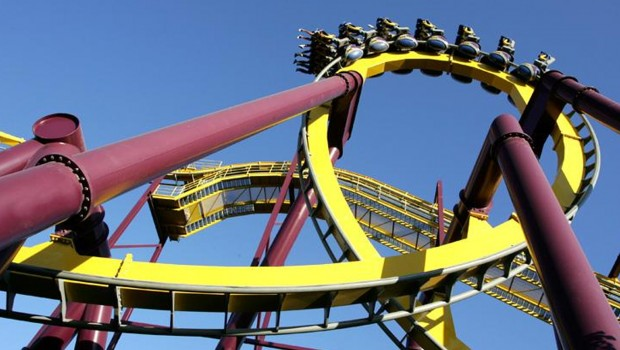 Parque Warner Madrid Batman La Fuga Looping