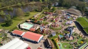 Paultons Park Luftaufnahme 2017