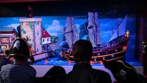 Pirateninsel LEGOLAND Discovery Centre Oberhausen Kentern Spiel