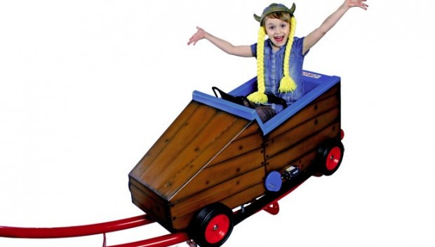 Rabkoland Viking Coaster Kinderachterbahn