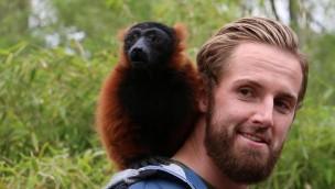Ralf Fährmann übernimmt die Patenschaft für Roten Vari in ZOOM Erlebniswelt