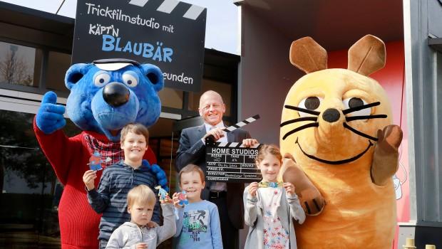 Ravensburger Spieleland Trickfilmstudio Eroeffnung