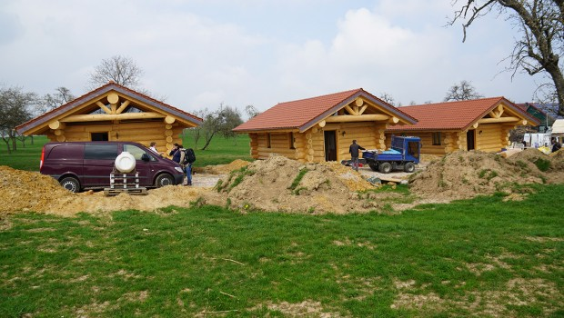 Schwaben-Dorf Schwaben-Park Baustelle April 2017