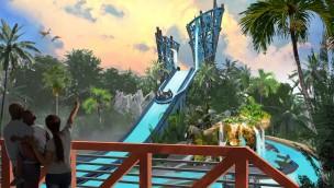 """SeaWorld Orlando kündigt Wildwasser-Rafting """"Infinity Falls"""" mit weltweit höchster Abfahrt an"""