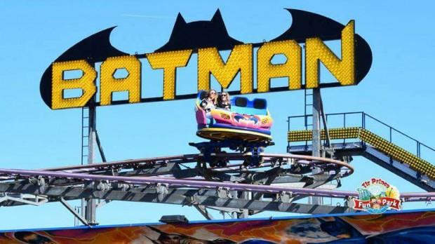Tir Prince Fun Park Towyn Achterbahn Batman