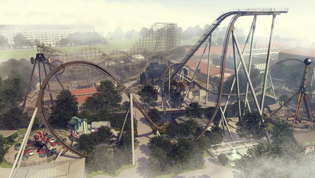Valkyria Liseberg Panorama Artwork