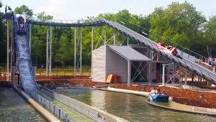 """Neue Wildwasserbahn in Parc du Petit Prince eröffnet: """"Atlantique Sud"""" sorgt für Abkühlung!"""