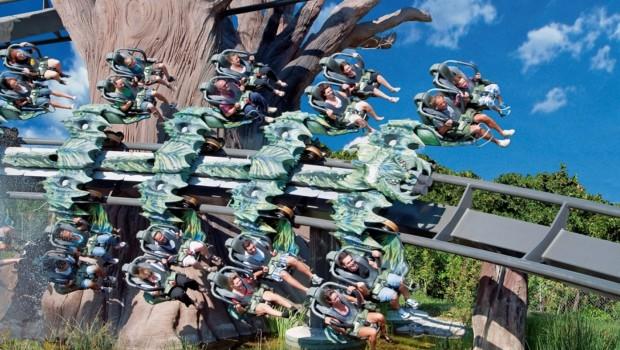 Bolliger & Mabillard Wing Coaster - Nature