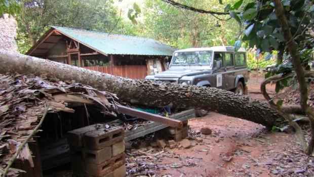 Drill Ranch nach Unwetter zerstört