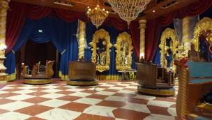 Efteling Symbolica Königssaal Testfahrt