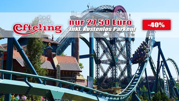 Günstige Efteling-Tickets 05/2017