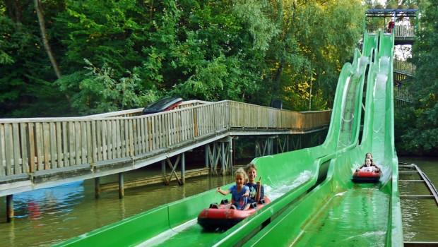 Erlebnispark Schloss Thurn Wasserbob Aufzug