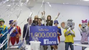 Europa-Park knackt als zweiter deutscher Freizeitpark Marke von 1.000.000 Facebook-Fans