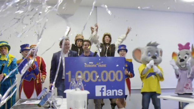 Europa-Park Facebook Million Fans