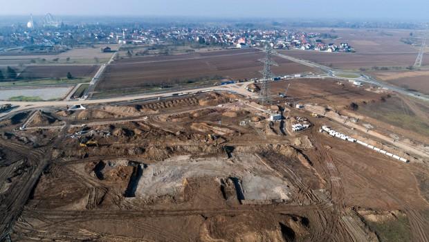 Europa-Park Wasserpark Baubeginn Baustellenbild