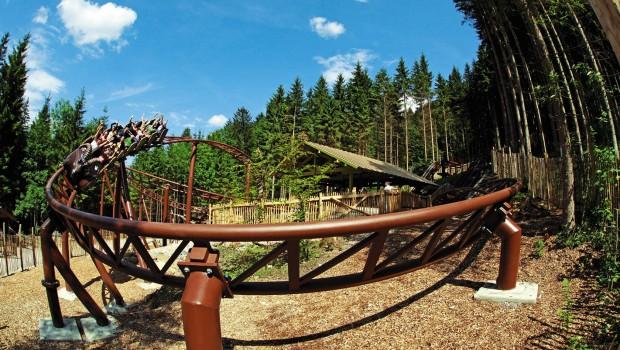 Freizeitpark Ruhpolding Achterbahn Gipfelstürmer